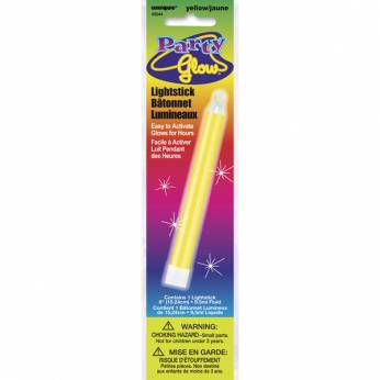 Glow in the Dark Stick Kleur: Geel